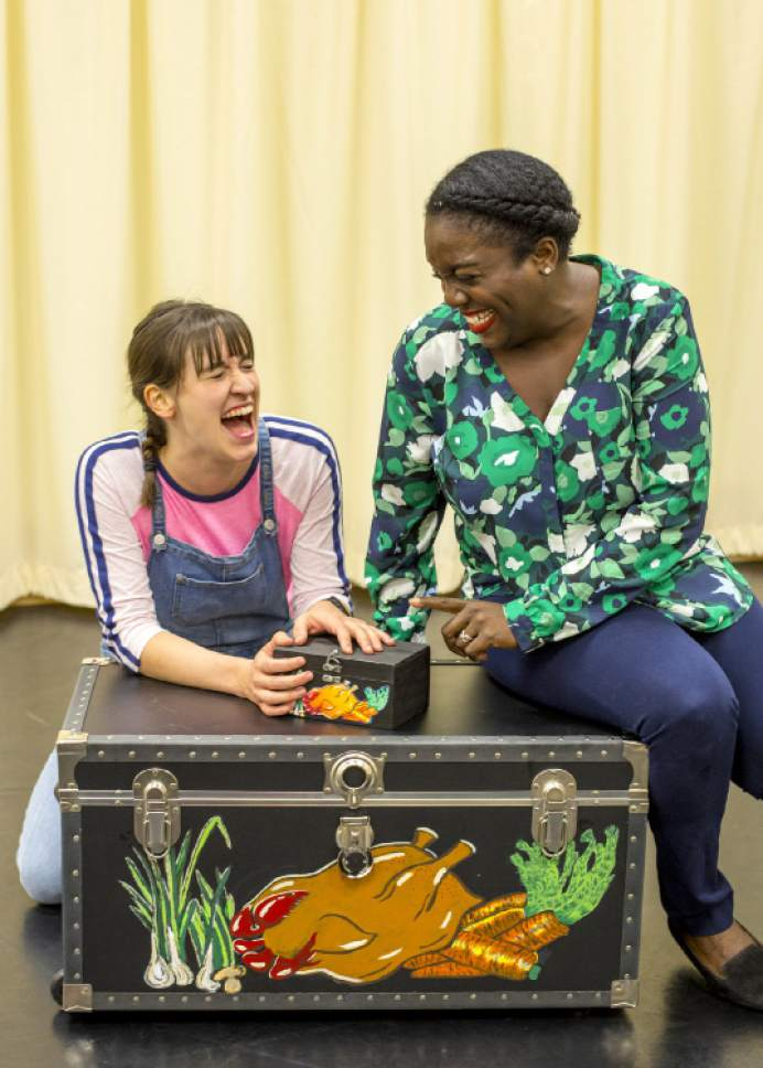 "Anne Louise Brings and Dee-Dee Darby Duffin will perform in Plan-B Theatre's ""The Edible Complex,"" a new play for elementary students by Utah playwright Melissa Leilani Larson. Rick Pollock  