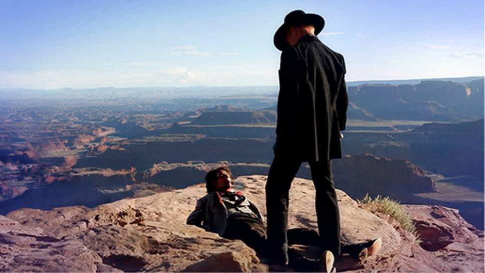 ìWestworld,îshot largely on location in southern Utah, premieres Sunday, Oct. 2, on HBO. John P. Johnson  |  HBO