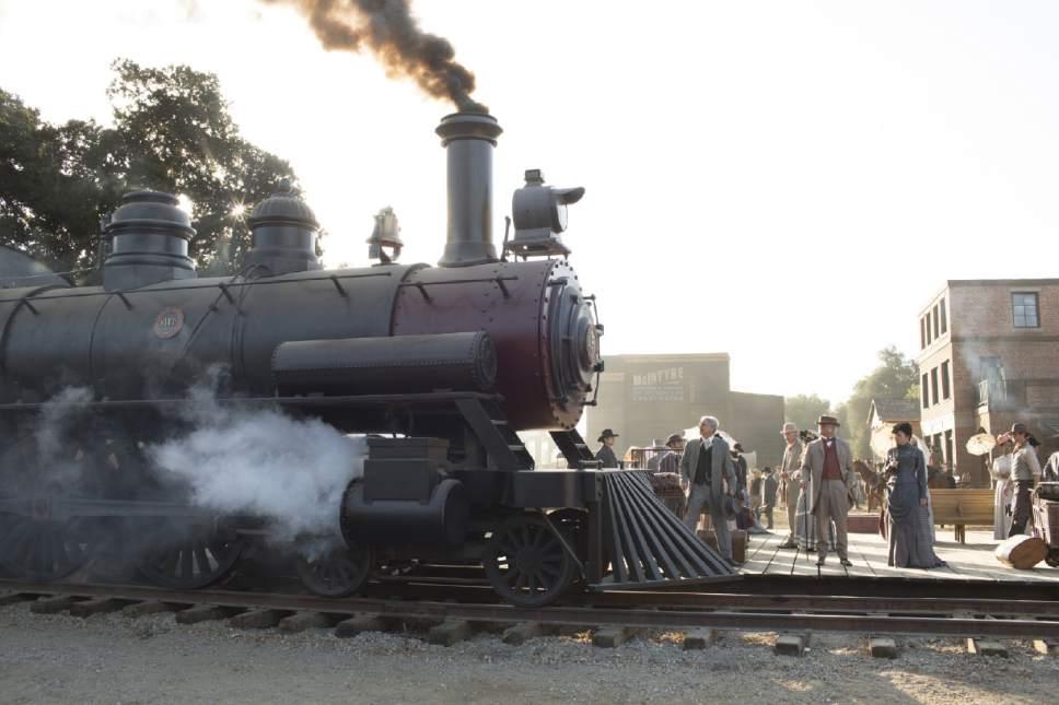 """Westworld,"" with many scenes shot in southern Utah, premieres Sunday, Oct. 2, on HBO. John P. Johnson  |  HBO"
