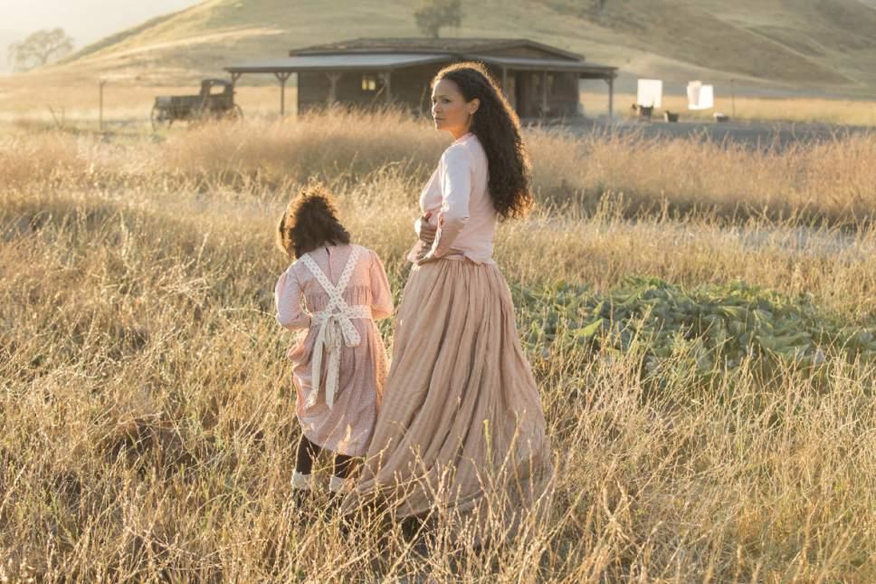 "Thandie Newton stars as Maeve Millay in ""Westworld."" John P. Johnson  |  HBO"