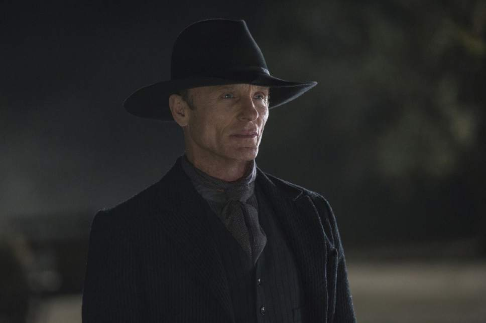 "Ed Harris stars as The Man in Black in ""Westworld."" John P. Johnson  