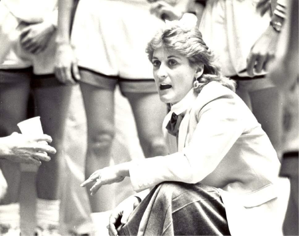 Former University of Utah head basketball coach Elaine Elliott.