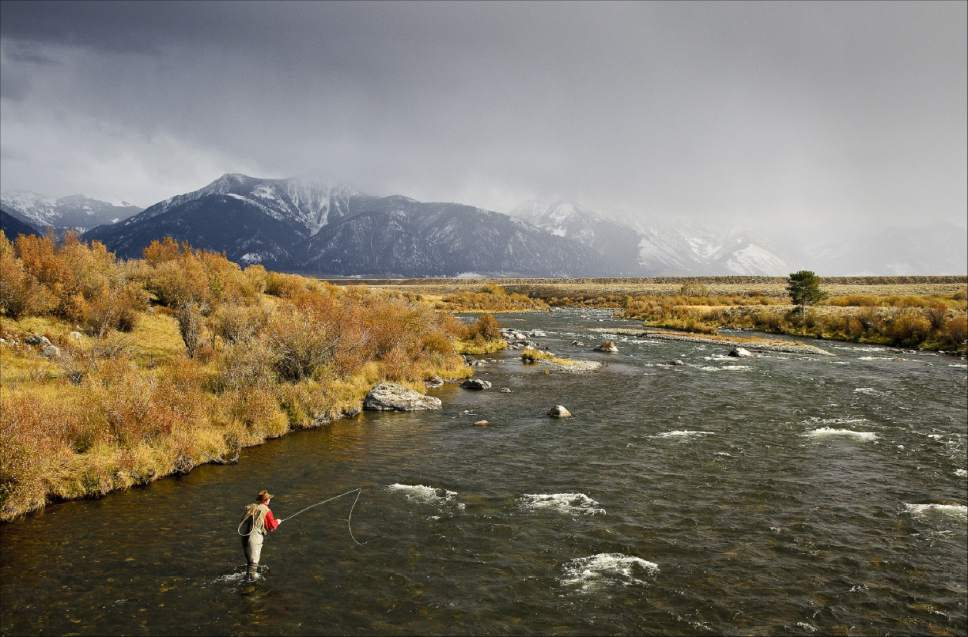 Experience fly fishing this fall in the heart of the Rocky Mountains.