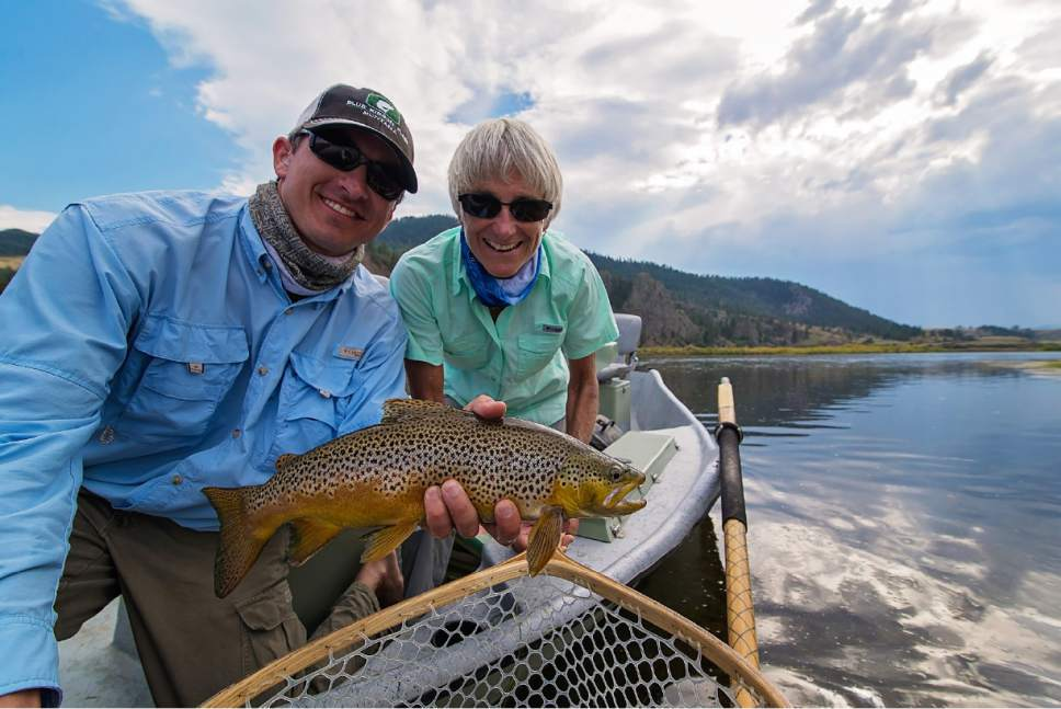 Fly fishing in West Yellowstone is for everyone.