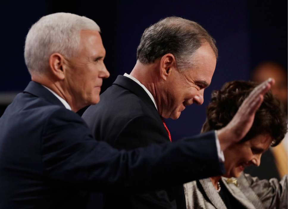 Steady Pence gets wide praise, but Kaine lands jabs on ...