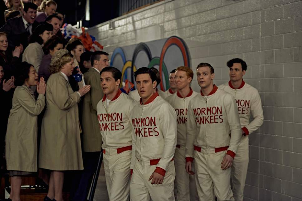 "|  Purdie Distribution / Samuel Goldwyn Films LDS missionaries form a basketball team in Australia, helping train teams for the 1956 Olympics, in the based-on-a-true-story sports drama ""Spirit of the Game."""