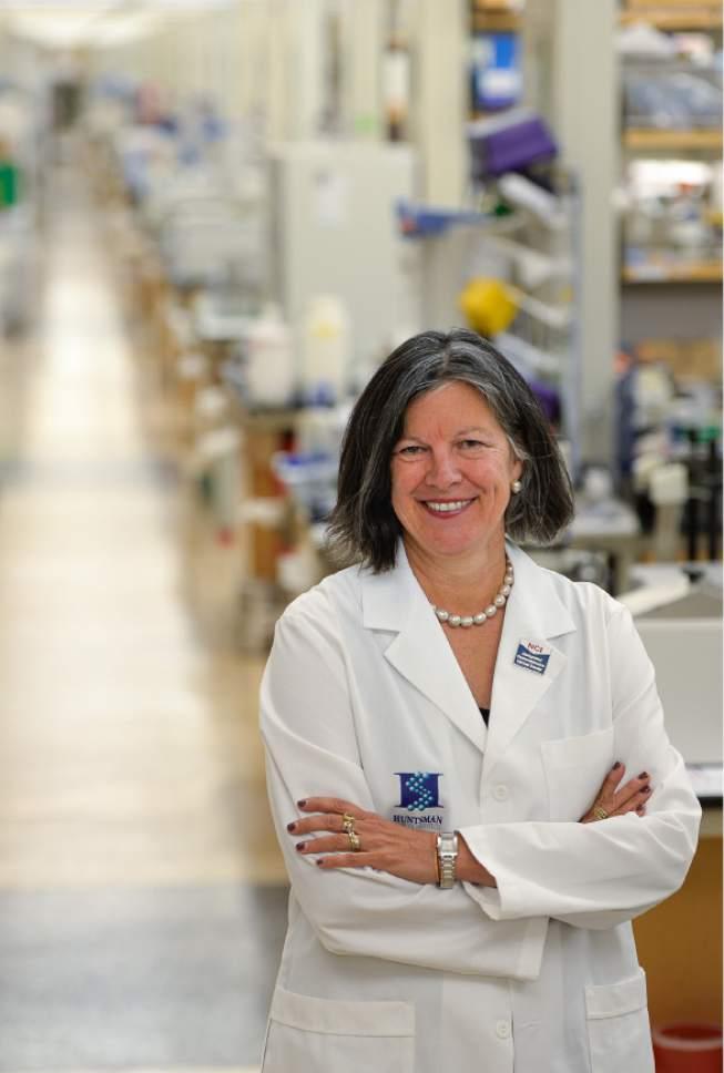 Francisco Kjolseth   The Salt Lake Tribune Mary Beckerle, CEO of the Huntsman Cancer Institute, served on a blue-ribbon panel convened as part of Vice President Joe Biden's cancer moonshot.
