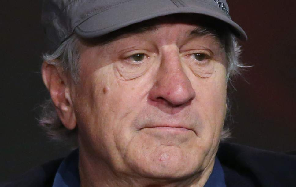 """FILE - In this Tuesday, Oct. 27, 2015 file photo, Robert De Niro attends a news conference in Macau. On Saturday, March 26, 2016, De Niro removed the anti-vaccination documentary """"Vaxxed"""" from the lineup of his Tribeca Film Festival, after initially defending its inclusion. (AP Photo/Kin Cheung)"""