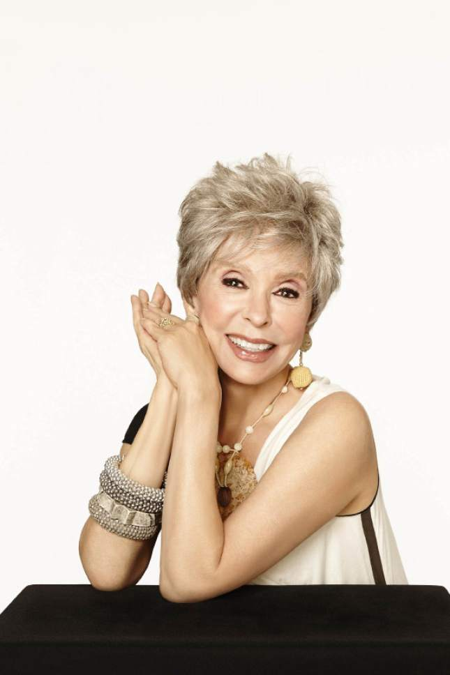 Courtesy photo  Rita Moreno will emcee and perform at the Eccles Theater's Premier Performance on Oct. 21.