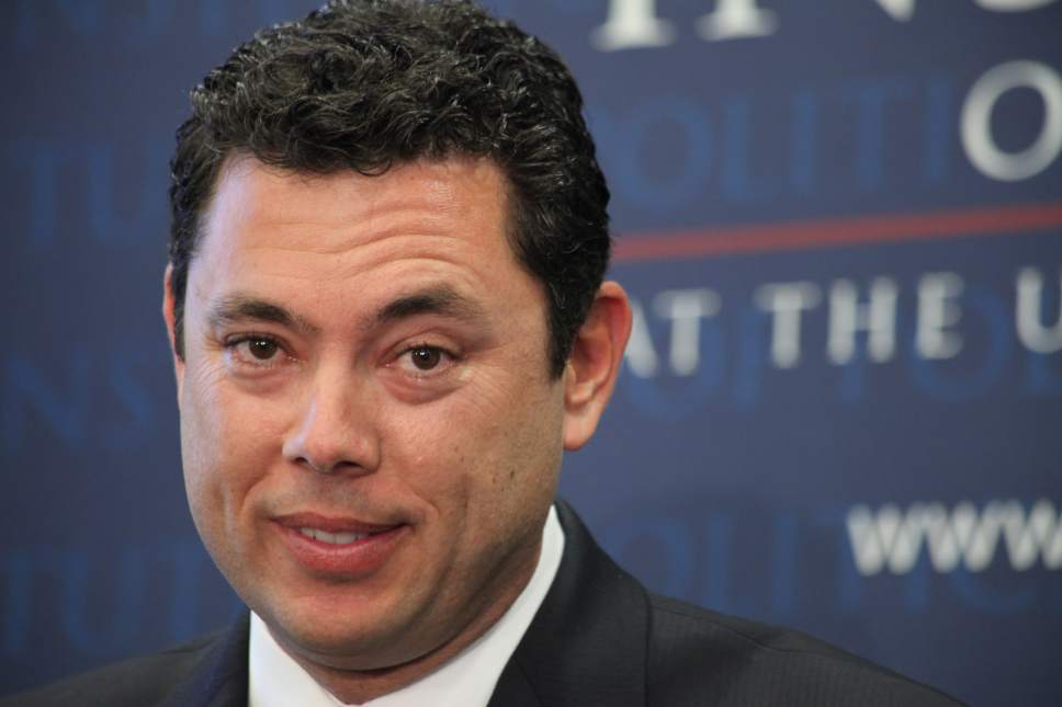 "Lynn DeBruin  |  AP file photo U.S. Rep. Jason Chaffetz, R-Utah, says he's not going to pay to attend his own victory party. ""At Chuck E. Cheese at least they give me game tokens,"" he says."