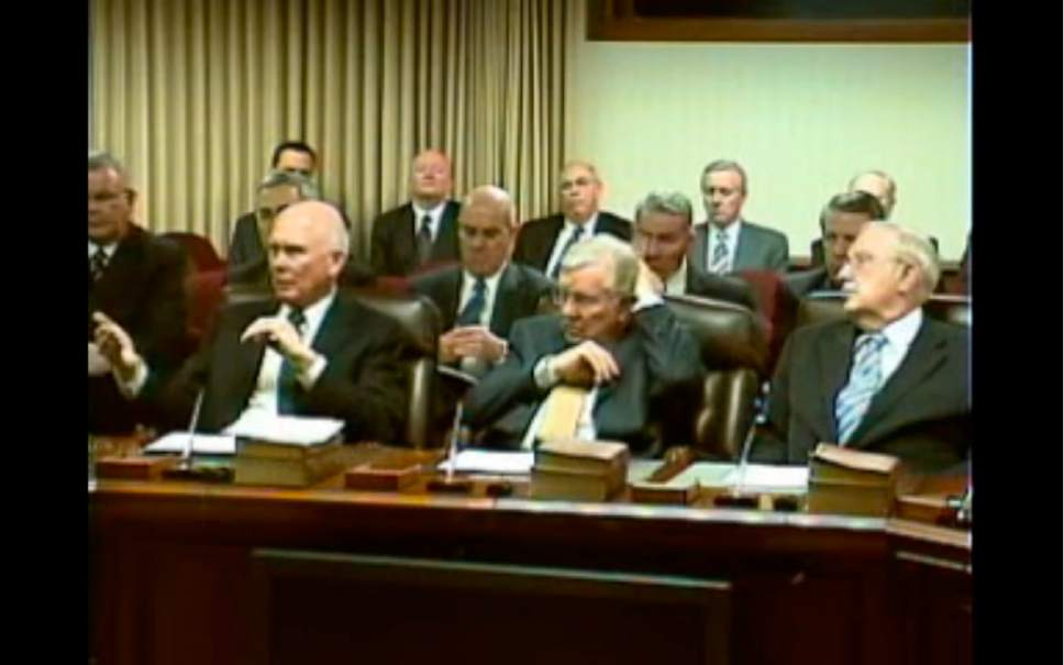 Leaked videos show Mormon apostles discussing political influence ...