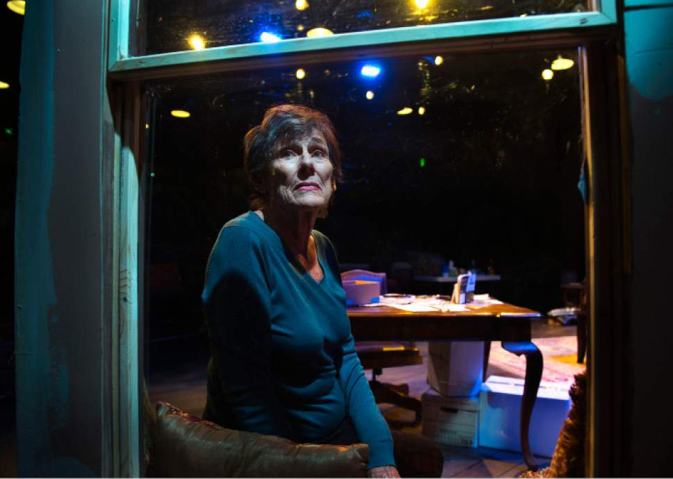 """Steve Griffin / The Salt Lake Tribune   Actress Anne Cullimore Decker is performing in SLAC's production of """"Winter."""""""