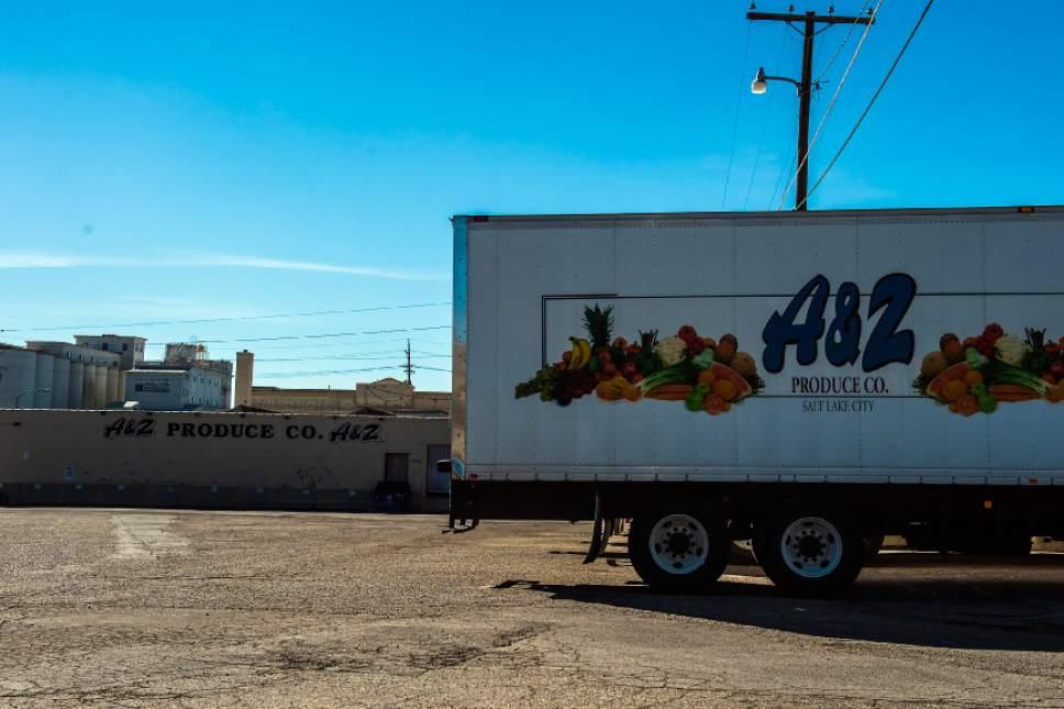 Chris Detrick  |  The Salt Lake Tribune A & Z Produce Company photographed Friday October 7, 2016.