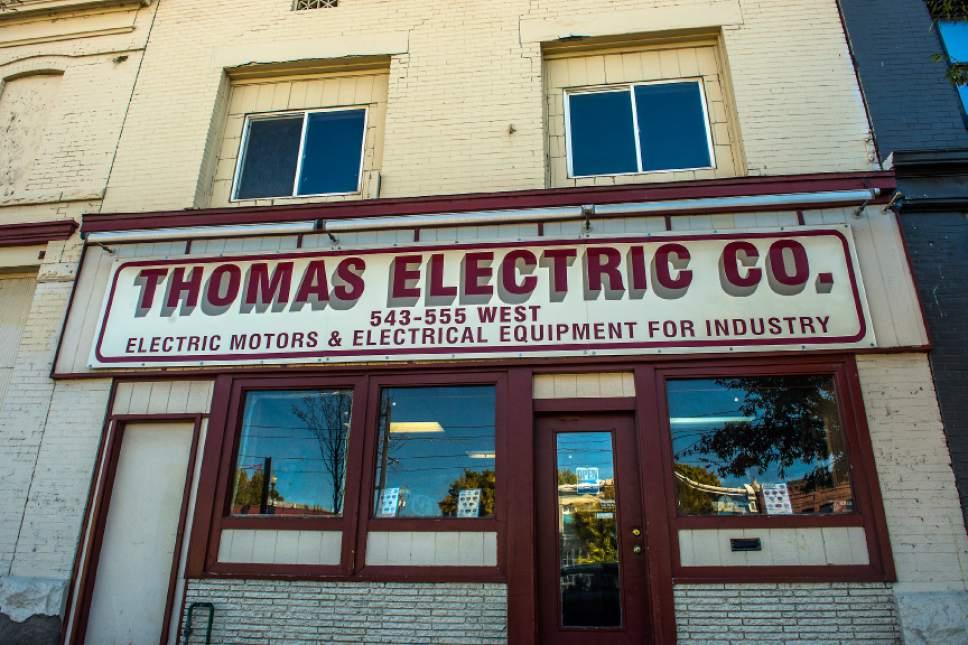 Chris Detrick  |  The Salt Lake Tribune Thomas Electric Co. photographed Friday October 7, 2016.