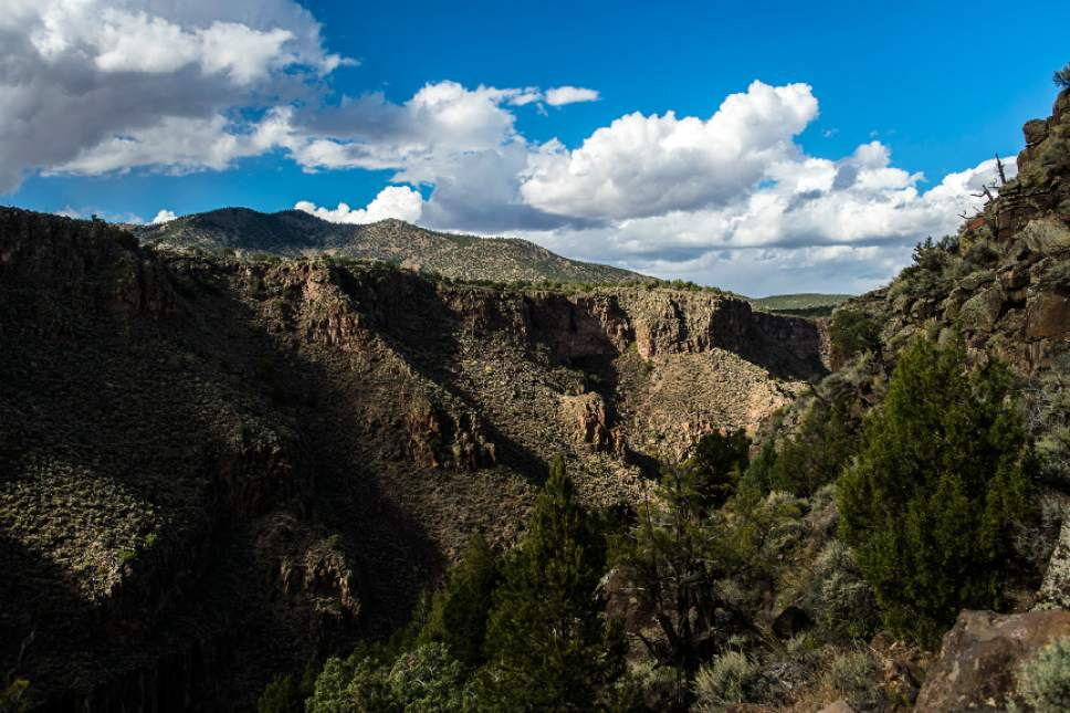 Chris Detrick  |  The Salt Lake Tribune Part of the Rio Grande del Norte National Monument, near the bear crossing trail in New Mexico Friday September 30, 2016.