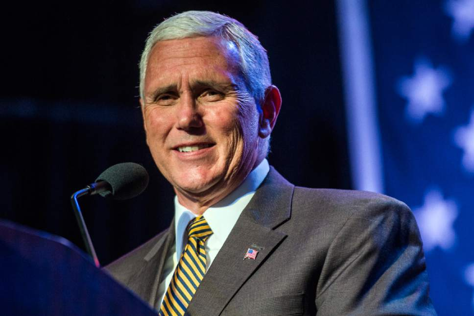 Pence urges Utah GOP to 'come home' and back Trump - The ...
