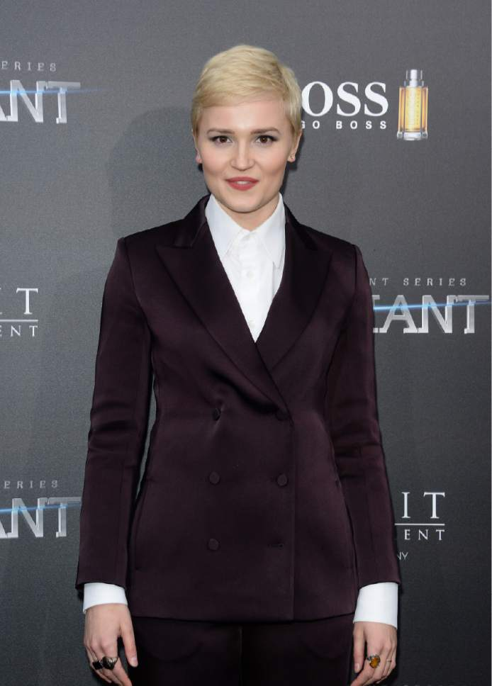 "FILE - In this March 14, 2016, file photo, author Veronica Roth attends the premiere of ""Allegiant"" in New York. Roth will appear at BookExpo America in Chicago. (Photo by Evan Agostini/Invision/AP, File)"