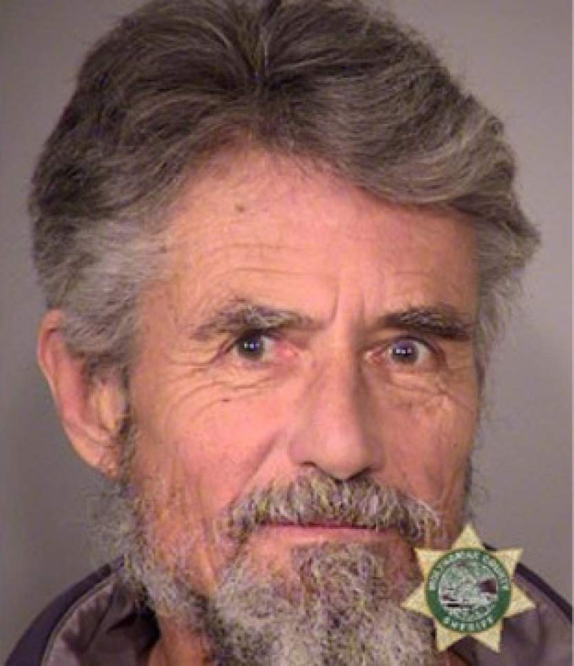 FILE--This Jan. 27, 2016, file photo provided by the Multnomah County Sheriff's Office shows Neil Wampler. Wampler and six others are set to go on trial nine months after the armed occupation of a wildlife refuge in Oregon. Government prosecutors are expected to begin opening statements Tuesday, Sept. 13, 2016, at the federal courthouse in Portland, Ore. (Multnomah County Sheriff via AP, file)