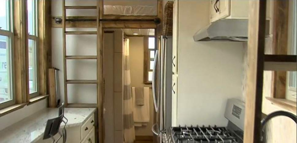 |  Courtesy of KUTV  The Switchpoint homeless shelter in St. George is considering a plan to install 100 mini-homes for overflow.