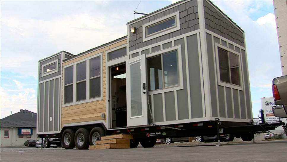 Courtesy of KUTV The Switchpoint homeless shelter in St. George is considering a plan to install 100 mini-homes for overflow.