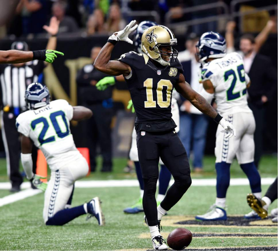 25 30 Seattle: NFL: Brees, Saints Outlast Seahawks 25-20
