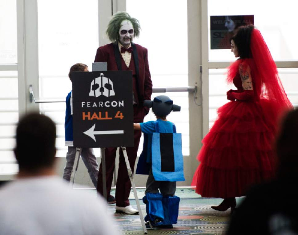 steve griffin the salt lake tribune halloween is starting early as fearcon a two