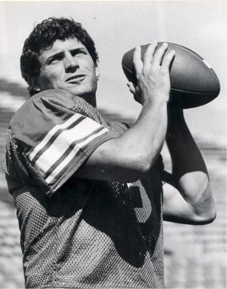    Tribune File Photo  Steve Young at BYU in 1984