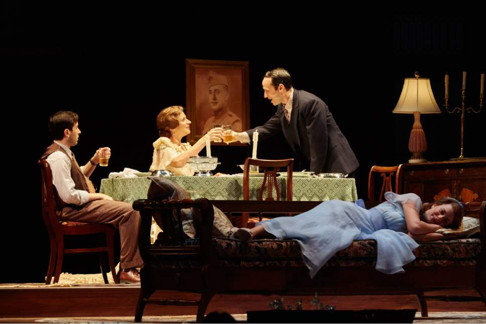 "Courtesy photo  Pioneer Theatre Company presents ""The Glass Menagerie,"" Tennessee Williams' classic play about his own dysfunctional family, through Nov. 5, at Simmons Pioneer Memorial Theatre in Salt Lake City."
