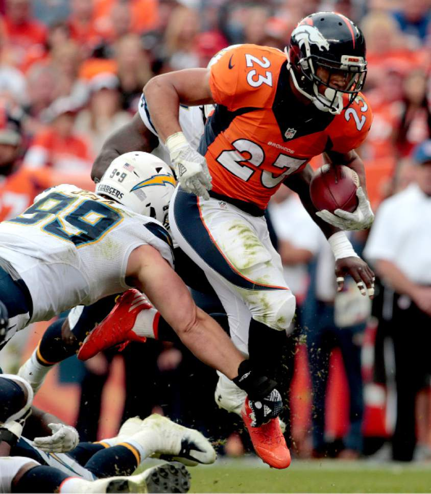 San Diego Chargers Backup Quarterback: NFL: Broncos' 27-19 Win Over Chargers Sets Up Showdown In