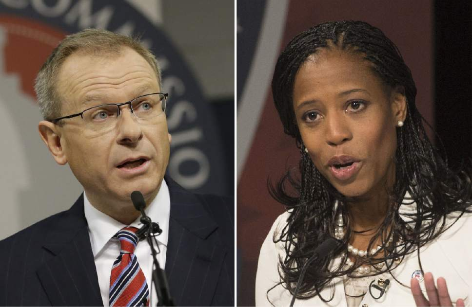 Doug Owens and Mia Love
