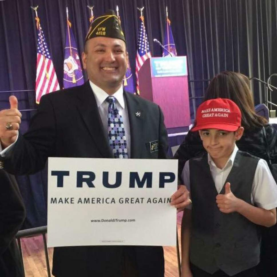 "|  courtesy of Tai P. Ho'o  Saratoga Springs resident Tai P. Ho'o says trying to vote while wearing a ""Make America Great Again"" hat led to a confrontation with poll workers and police that led to a misdemeanor charge against him."