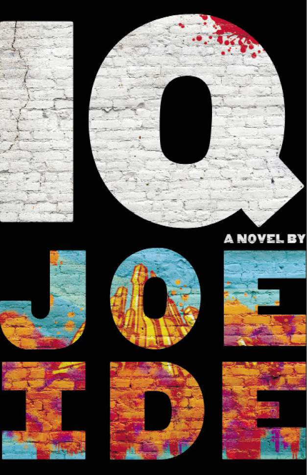 "This book cover image released by Mulholland Books shows ""IQ,"" a novel by Joe Ide. (Mulholland Books via AP)"