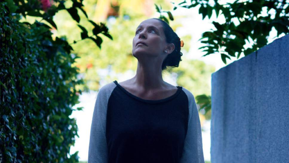 """Sonia Braga plays Clara, a widow and retired music critic who battles a construction company over her apartment in the Brazilian drama """"Aquarius."""" Courtesy Vitagraph Films"""