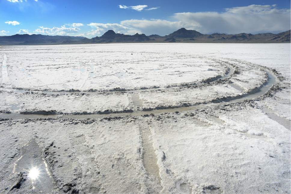 Canadian will pay fine for wakeboarding on Utah's Bonneville Salt ...