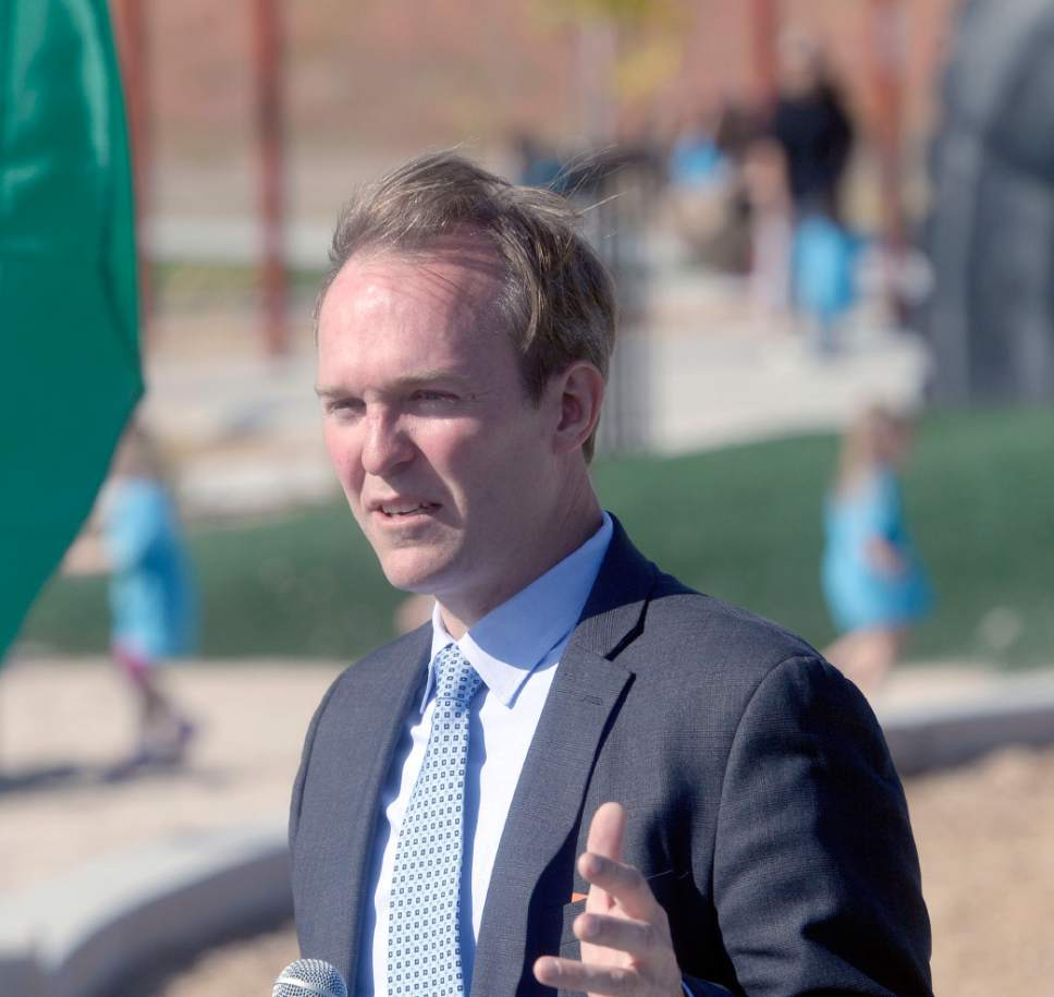 Al Hartmann  |  Tribune file photo Salt Lake County Mayor Ben McAdams is well on his way to winning a second term, according to a new Tribune-Hinckley Institute of Politics poll.