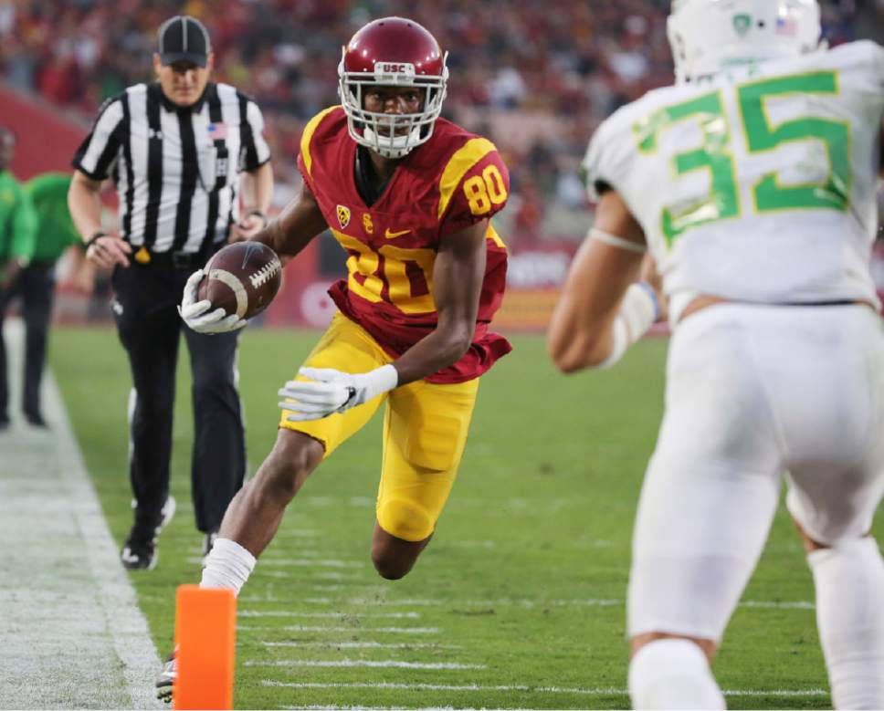 Pac-12: Jones, Darnold power USC to 45-20 win over Oregon - The Salt ...