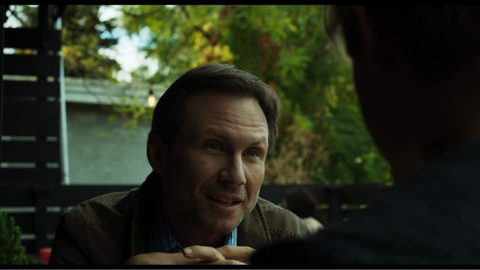 "Christian Slater plays Stephen, a gay-porn filmmaker who becomes obsessed with his young star, in the crime thriller ""King Cobra."" Courtesy  IFC Films"