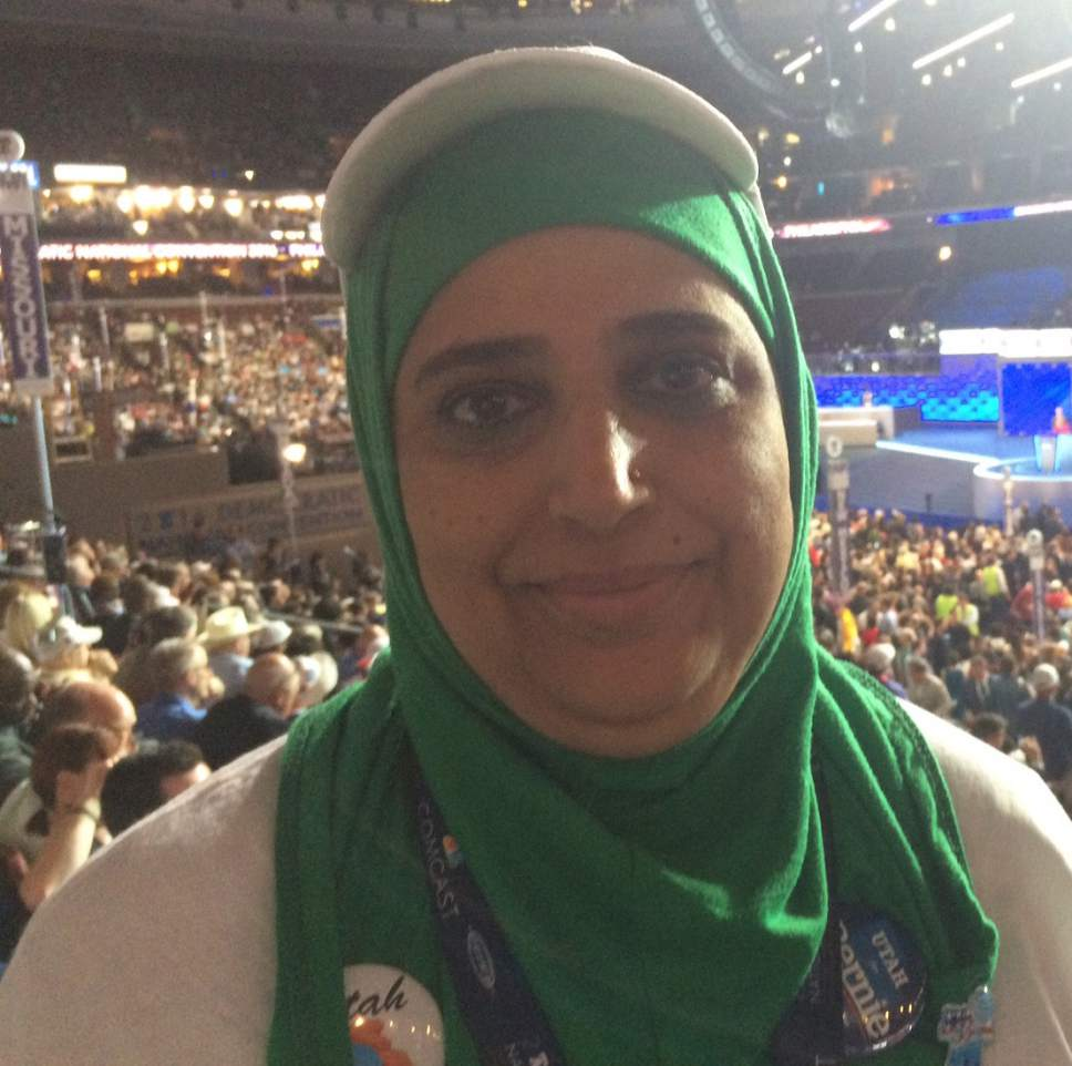 Thomas Burr  |  The Salt Lake Tribune Noor Ul-Hasan, a Utah delegate to the Democratic National Convention, is a a Muslim who ran in reaction to Donald Trumpís proposed Muslim immigration ban.