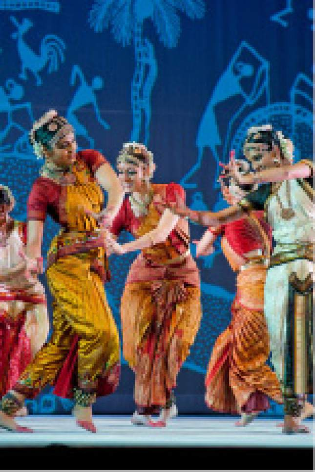 "Ragamala Dance Company will perform ""Sacred Earth"" at Kingsbury Hall in Salt Lake City on Saturday, Nov. 12. Hub Wilson  