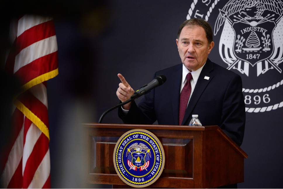 Scott Sommerdorf      Tribune file photo Utah Gov. Gary Herbert on Thursday said he talked to Denis McDonough, chief of staff to President Barack Obama, and was assured that, as of Monday, no decision had been made on the designation of a Bears Ears National Monument.