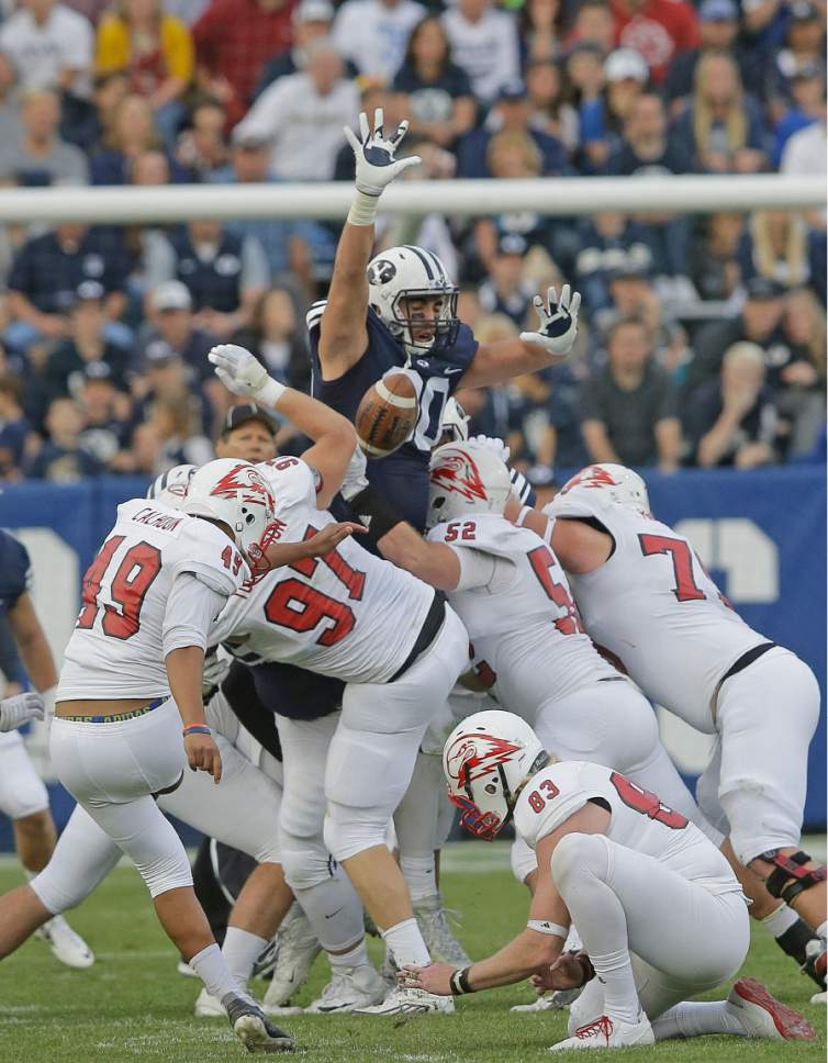 BYU football: Corbin Kaufusi has gone from novelty to ...