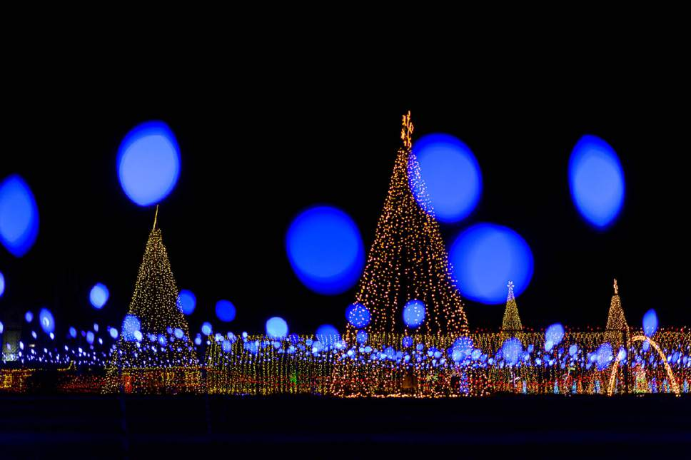 trent nelson the salt lake tribune the lights at christmas in color in kearns