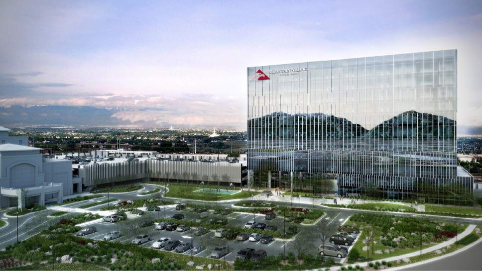 courtesy urban office. Courtesy Urban Office. Renderings Of Mountain America Union Credit  Work Is Underway On A Office N