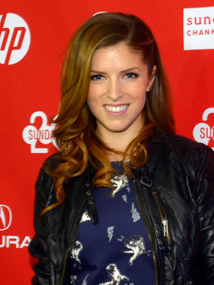 """Rick Egan    The Salt Lake Tribune   Anna Kendrick before the screening of """"Happy Christmas"""" at the Sundance Film Festival premiere at the Library Center, in Park City, Sunday, Jan. 19 January 19, 2014."""