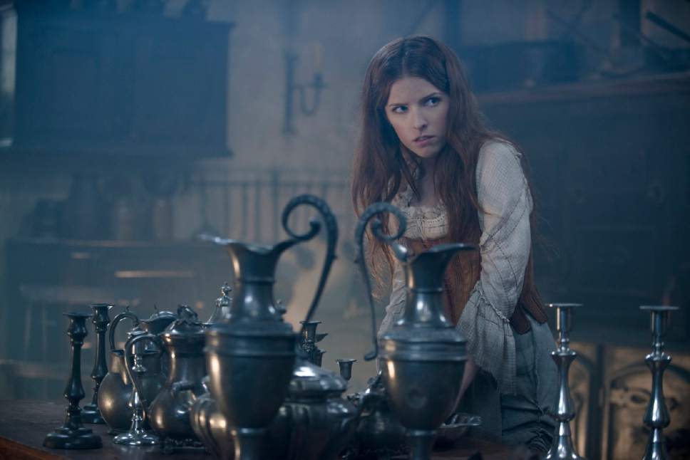 "In this image released by Disney Enterprises, Inc., Anna Kendrick stars as Cinderella in a scene from ""Into the Woods."" (AP Photo/Disney Enterprises, Inc., Peter Mountain)"
