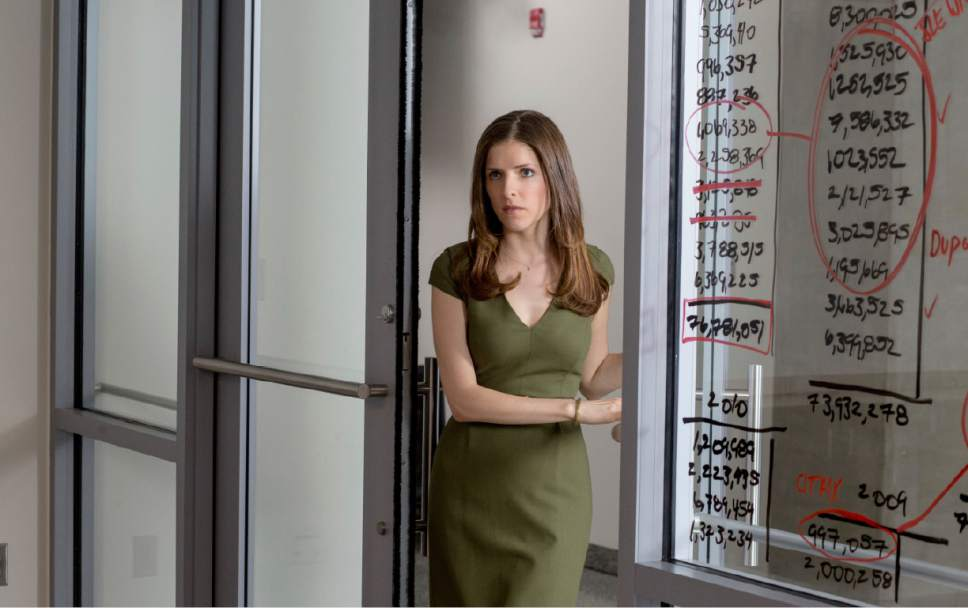"In this image released by Warner Bros. Pictures, Anna Kendrick appears in a scene from ""The Accountant."" (Chuck Zlotnick/Warner Bros. Pictures via AP)"