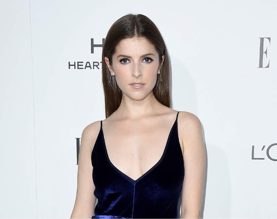 "FILE - In this Oct. 24, 2016 file photo, Anna Kendrick arrives at the 23rd annual ELLE Women in Hollywood Awards in Los Angeles. Kendrick released a book, ""Scrappy Little Nobody,"" with anecdotes and musings from her life. (Photo by Jordan Strauss/Invision/AP, File)"