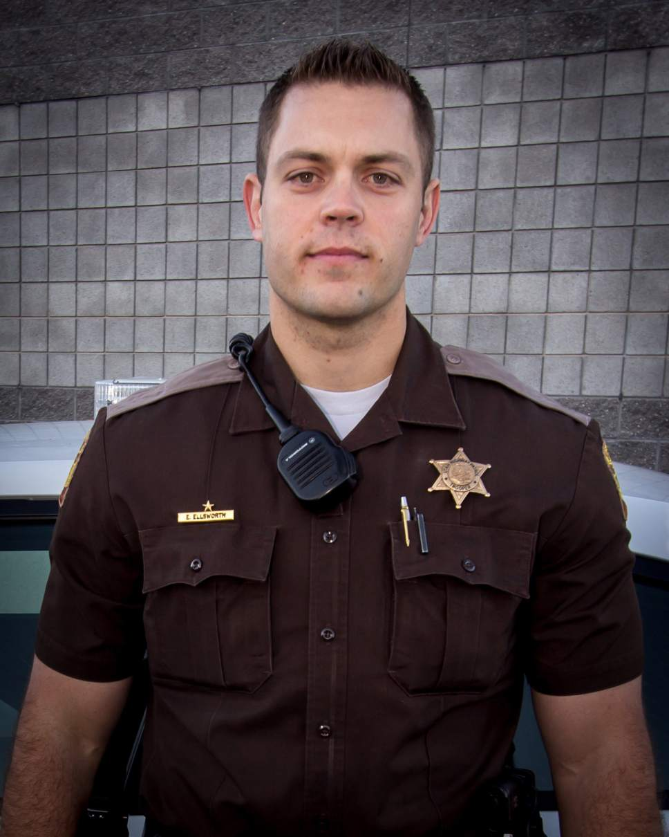 Utah Highway Patrol Trooper Eric Ellsworth