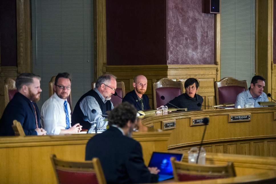 Chris Detrick  |  The Salt Lake Tribune Members of the Salt Lake City Council Tuesday November 15, 2016.