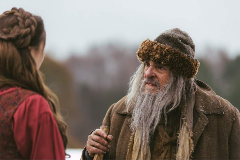 John Rhys-Davies stars in ìWinter Thaw.î Lukas Salina     BYUtv